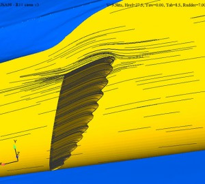 rudder whale cfd streamiline