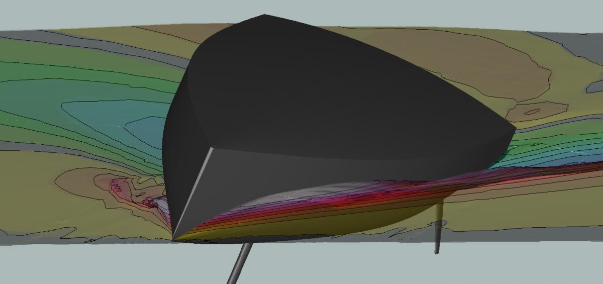 cfd rans simulation sailing yacht hydrodynamic