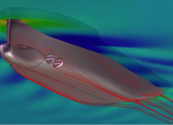 optimization cfd ship bow