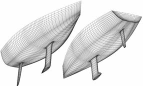 sailing yacht mesh
